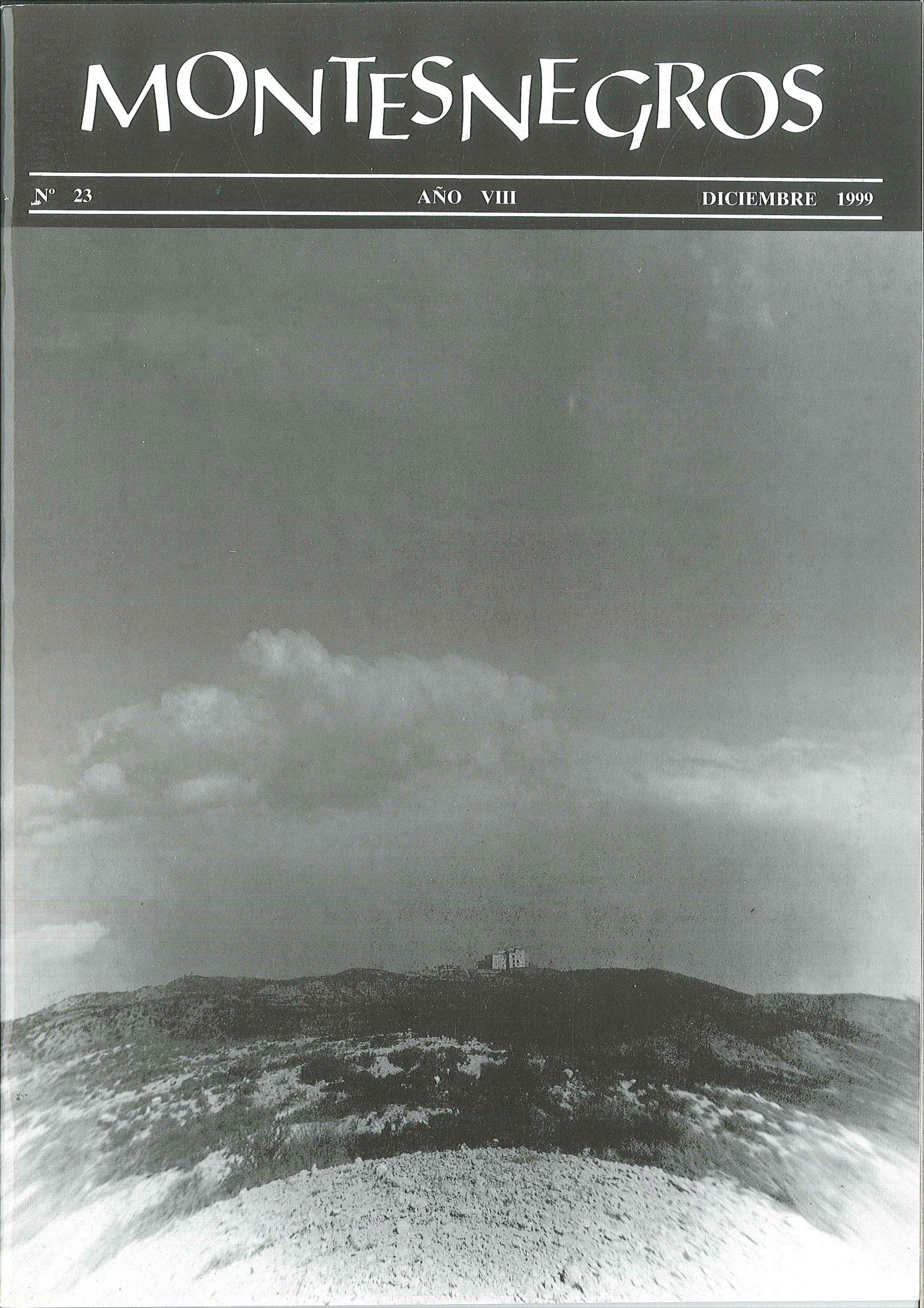 Portada del número 46 de la revista Montesnegros