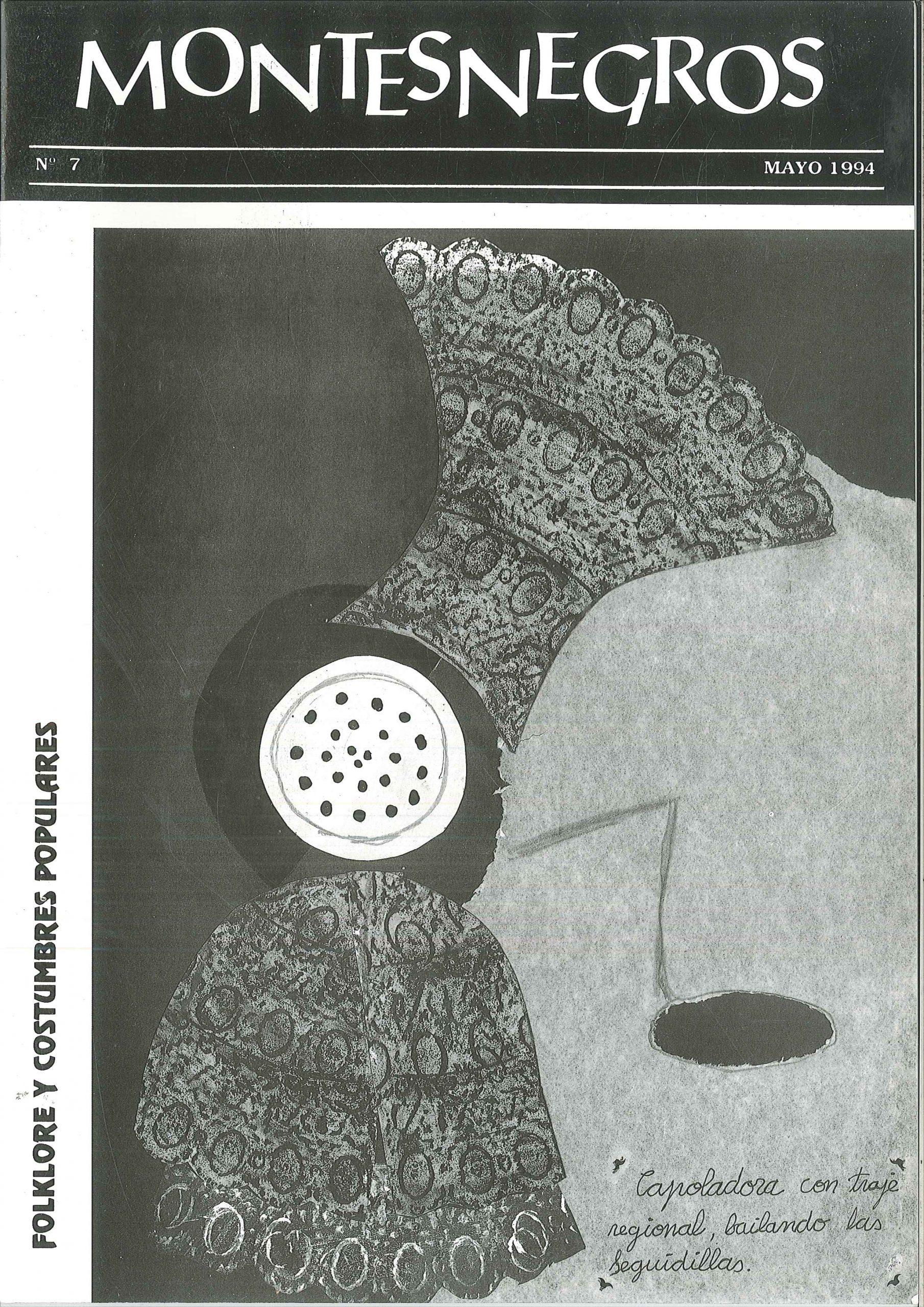 Portada del número 45 de la revista Montesnegros