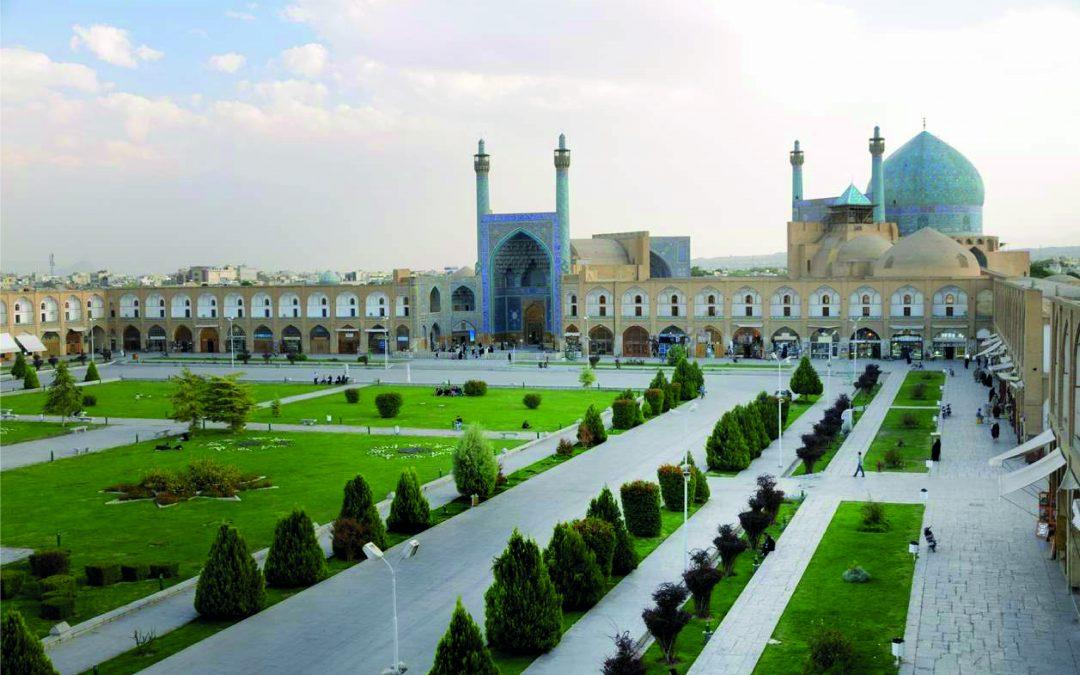 Plaza en Isfahán