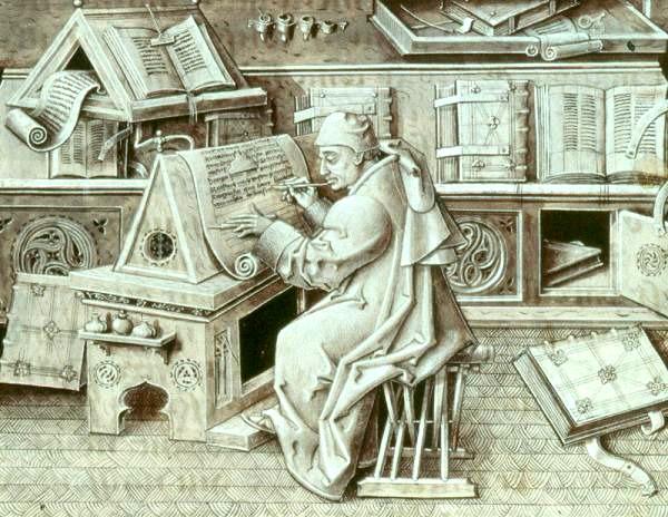 Escribanos en La Almolda